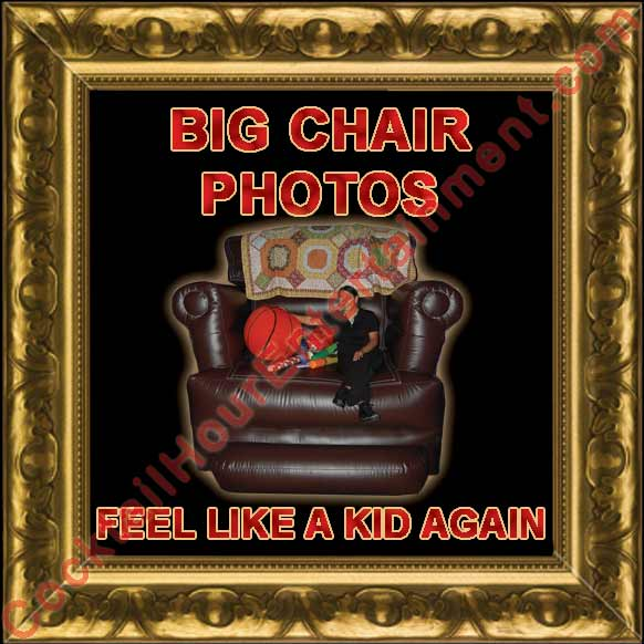 big chair photo package