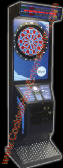 dart machine arcade game rental