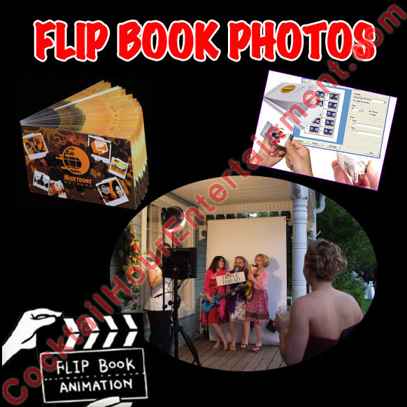 flip book package