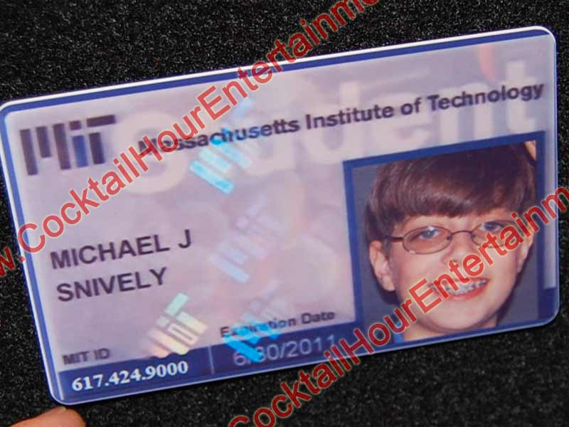 bar mitzvah id card sample 3