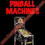 pinball machines button