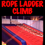 inflatable rope ladder climb button