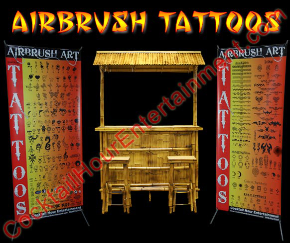 Airbrush Tattoos South Florida Bar Mitzvahs