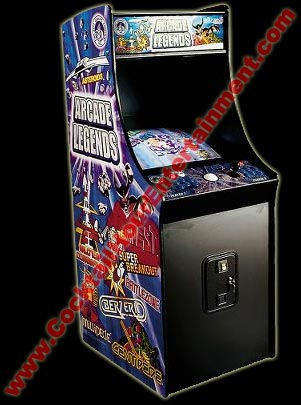 arcade legends game rental mame