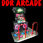 DDR dance dance revolution arcade game button