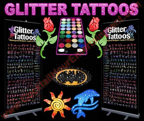 florida glitter tattoos
