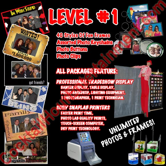 Level 1 photo favor package