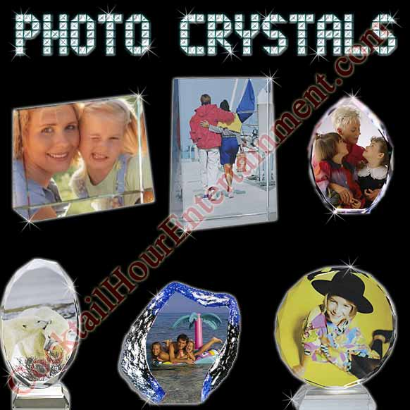 photo favors crystal keepsakes package