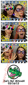Bat Mitzvah Photo Booths strip