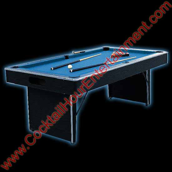 pool table game rental