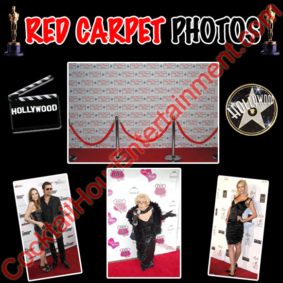 red carpet photo package
