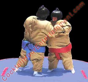 padded sumo suits game rental for party